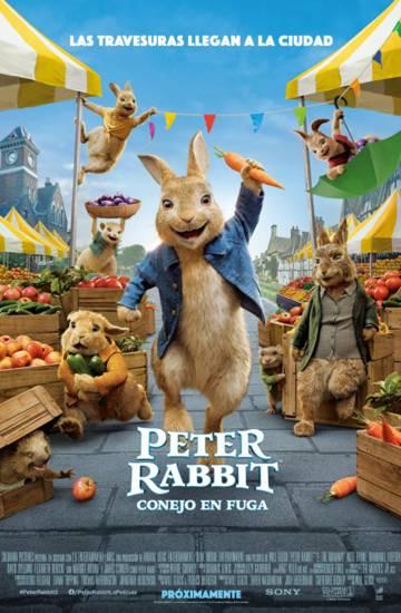 Peter Rabbit Conejo en Fuga